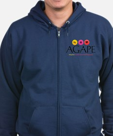 Agape - Connecting the Dots Zip Hoodie