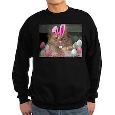 Easter Orange Tabby Cat Sweatshirt
