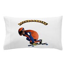 Longboarding Pillow Case