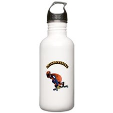 Longboarding Water Bottle