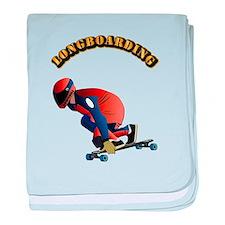 Longboarding baby blanket