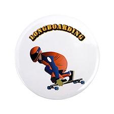"Longboarding 3.5"" Button (100 pack)"