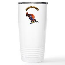 Longboarding Travel Coffee Mug