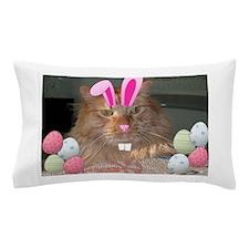 Easter Orange Tabby Cat Pillow Case