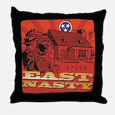 East Nasty Throw Pillow