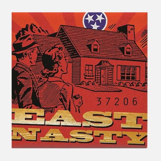 East Nasty Tile Coaster