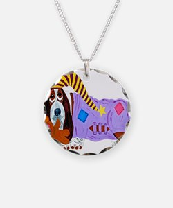 Basset Hound Bedtime Necklace