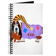 Basset Hound Bedtime Journal