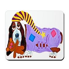 Basset Hound Bedtime Mousepad