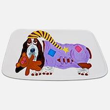 Basset Hound Bedtime Bathmat