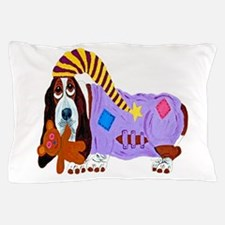 Basset Hound Bedtime Pillow Case