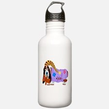 Basset Hound Bedtime Water Bottle