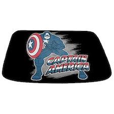 Captain America Vintage Bathmat