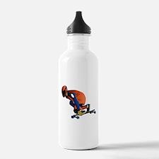 Longboarding - No Txt Water Bottle