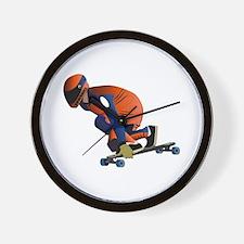 Longboarding - No Txt Wall Clock