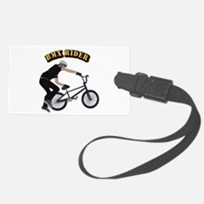 BMX With Text Luggage Tag