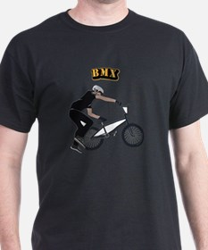 BMX With Text T-Shirt