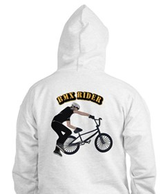 BMX With Text Hoodie
