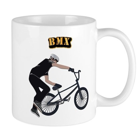 BMX With Text Mug