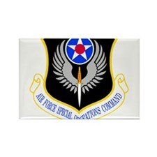 Special Operations Command Rectangle Magnet