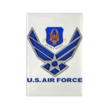 Reserve Command USAF Rectangle Magnet