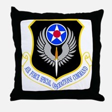 Special Operations Command Throw Pillow