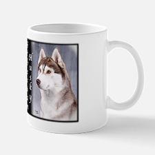 Siberian Husky Red Mug