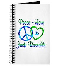 Peace Love Jack Russells Journal