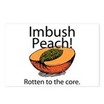 Imbush That Rotten Peach Postcards (Package of 8)