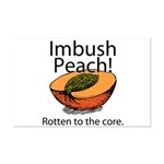 Imbush That Rotten Peach Mini Poster Print