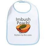 Imbush That Rotten Peach Bib