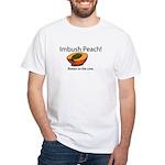 Imbush That Rotten Peach White T-Shirt