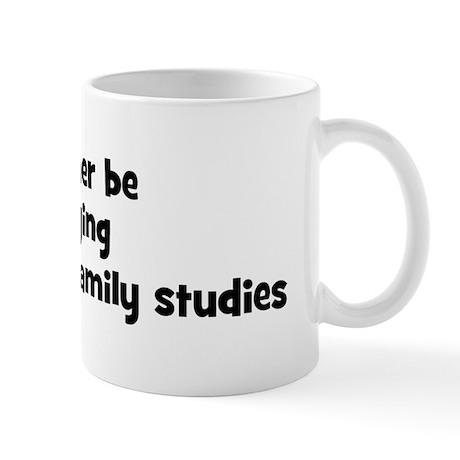 Study marriage and family stu Mug