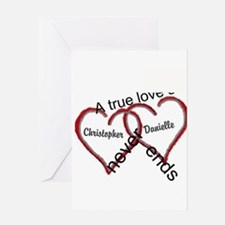 A true love story: personalize Greeting Cards