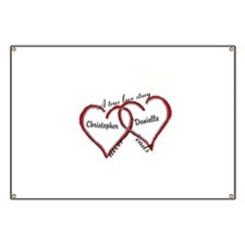 A true love story: personalize Banner