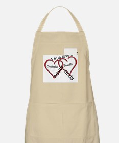 A true love story: personalize Apron