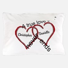 A true love story: personalize Pillow Case