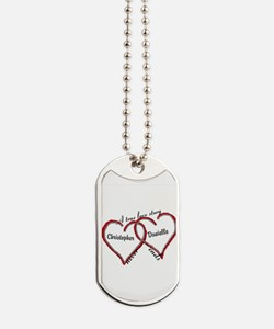A true love story: personalize Dog Tags