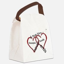 A true love story: personalize Canvas Lunch Bag