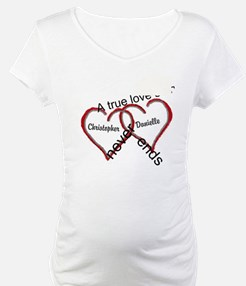 A true love story: personalize Shirt