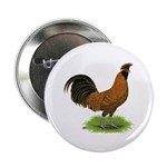 Gold Brabanter Rooster Button
