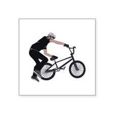 "BMX Square Sticker 3"" x 3"""