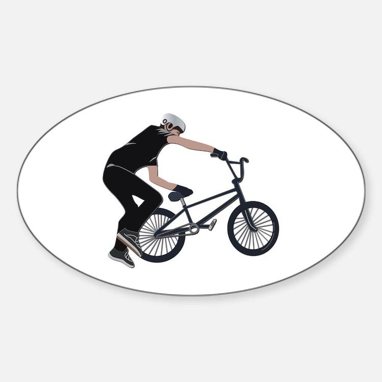 BMX Sticker (Oval)