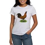 Gold Brabanter Rooster Women's T-Shirt