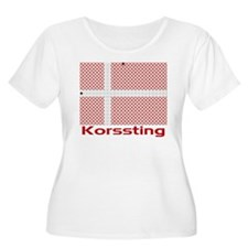 Denmark - Cross Stitch T-Shirt