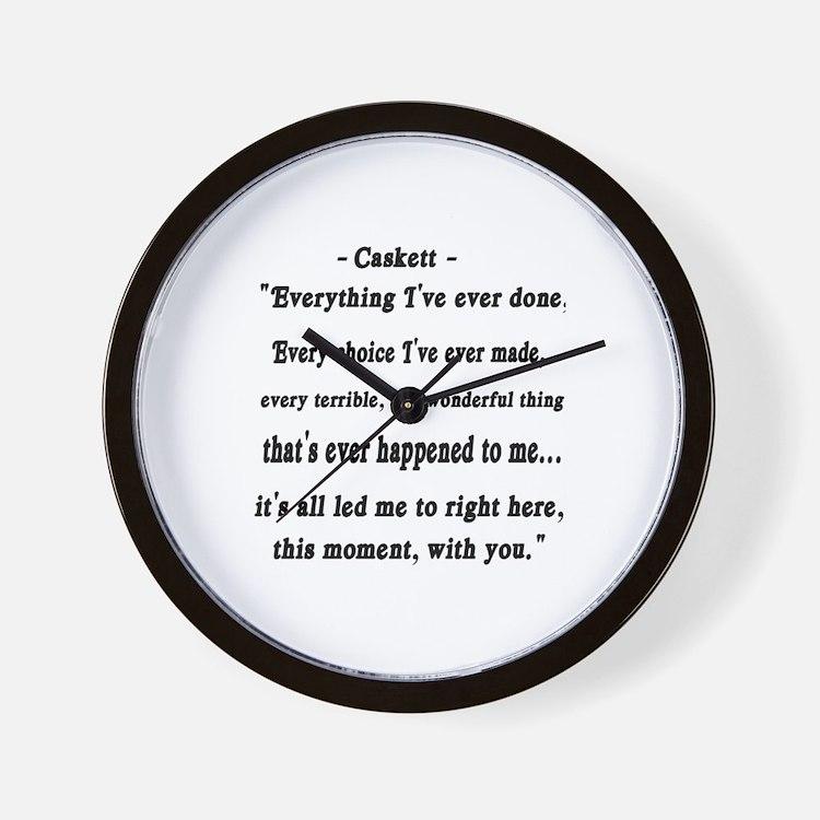 Caskett Wall Clock