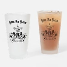 B2R Coat of Arms Drinking Glass