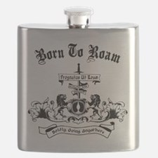 B2R Coat of Arms Flask