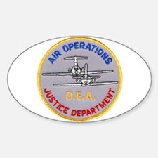 D.E.A. Air Operations Decal