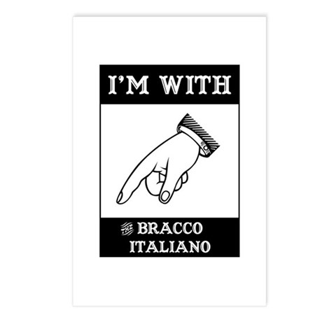 With the Bracco Postcards (Package of 8)